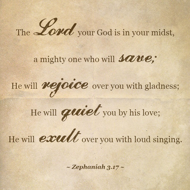 bible verse mighty to save